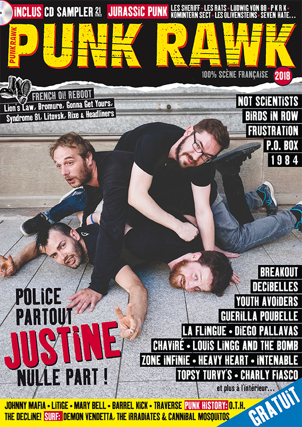 PUNK RAWK 2018 – mag + CD