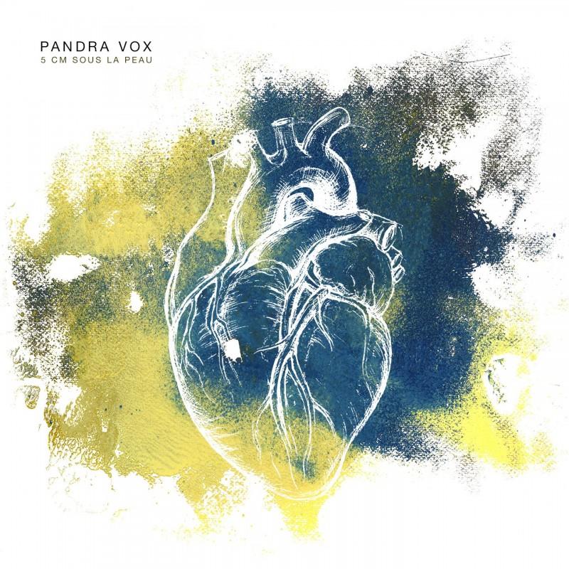 Pandra Vox - 5cm sous la peau CD cover